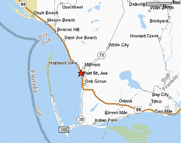 st joe beach florida map Port St Joe Florida Busybeetraveler