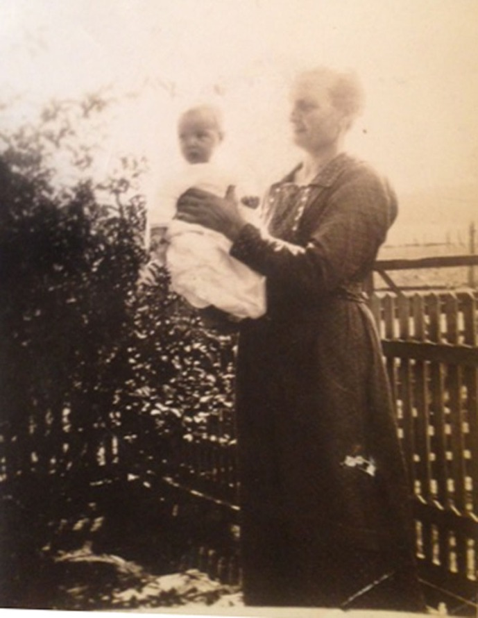 Ida Crosslin Ogles, Aubrey Lee Ogles baby