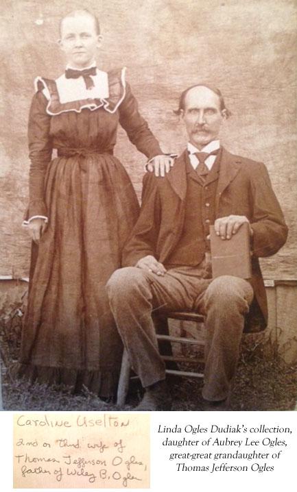 Thomas J. Ogles & Caroline Uselton