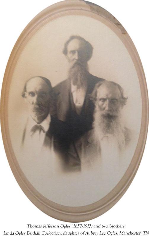Thomas Jefferson Ogles, Hercules & Abner Ogles, brothers