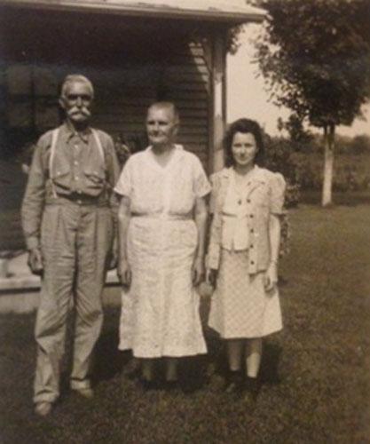 Wiley B, Ida Ogles, Atha Manning Ogles