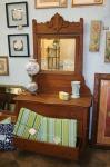 Hwy 41, oak dresser