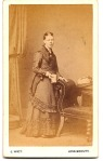 Scot girl standing, J. Watt, Lossiemouth