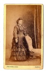 Scot lady, hand on chair, John Penny, Huntly