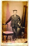 Scot man, beret, R. Stewart, Elgin