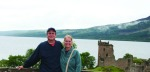 Jamie and Wally at Loch Ness