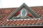 scot-crail lobster accents on gable