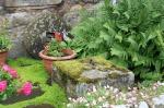 scot - grist stone in garden