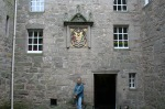 scot - jamie in cawdor courtyard