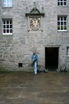 scot- jamie in cawdor courtyard