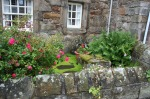 scot- old courtyard garden