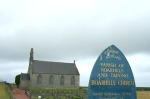 scot - parish church sign outside crail