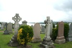 scot- st. andrew ceme celtic crosses