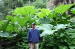scot - wally in giant plants at cawdor