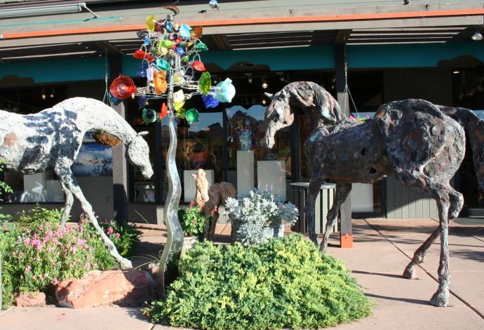 sedona, horses, windchaser
