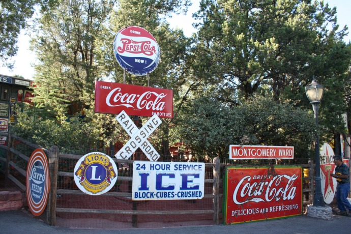 sedona, soda signs