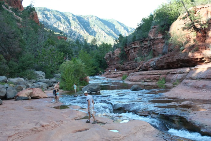 slide rock creek, wally