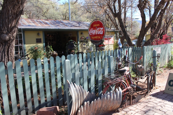 AZ, Hummingbird House front