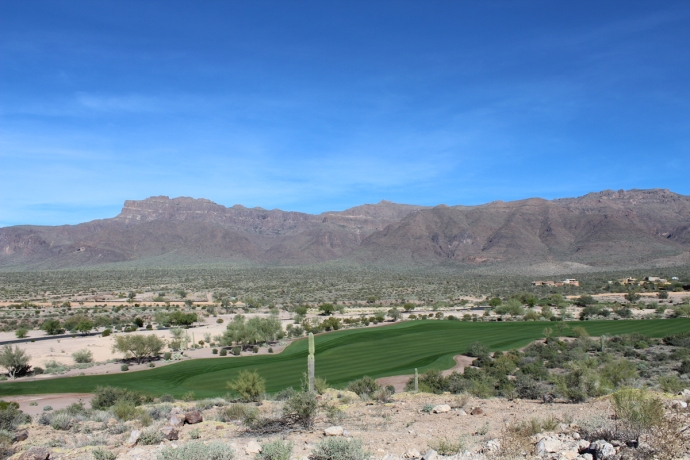AZ, Phoenix, Superstition Mtn course