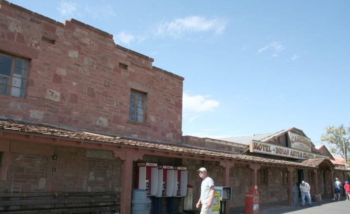 cameron trading post, wally