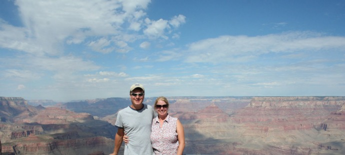 grand canyon, jamie, wally panorama