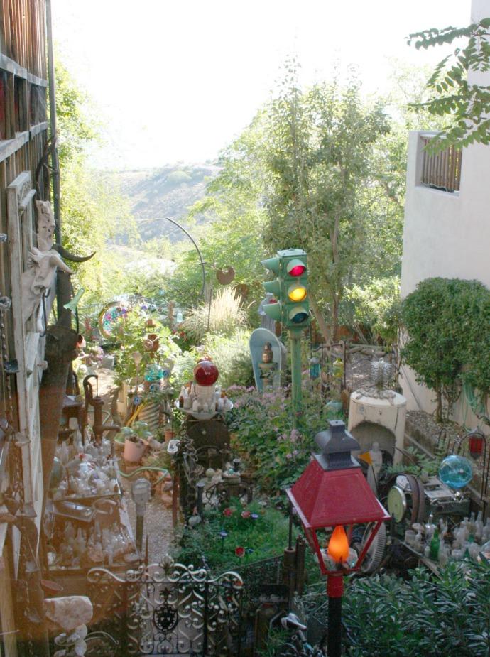 jerome, art garden