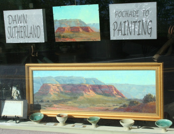 jerome, dawn sutherland art, window