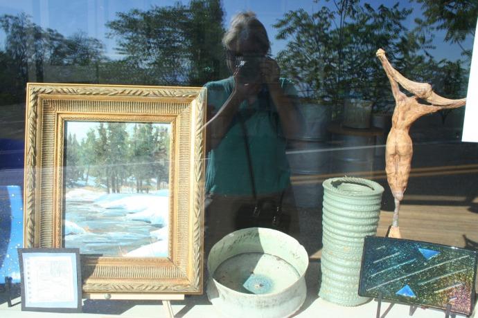 jerome, gallery window