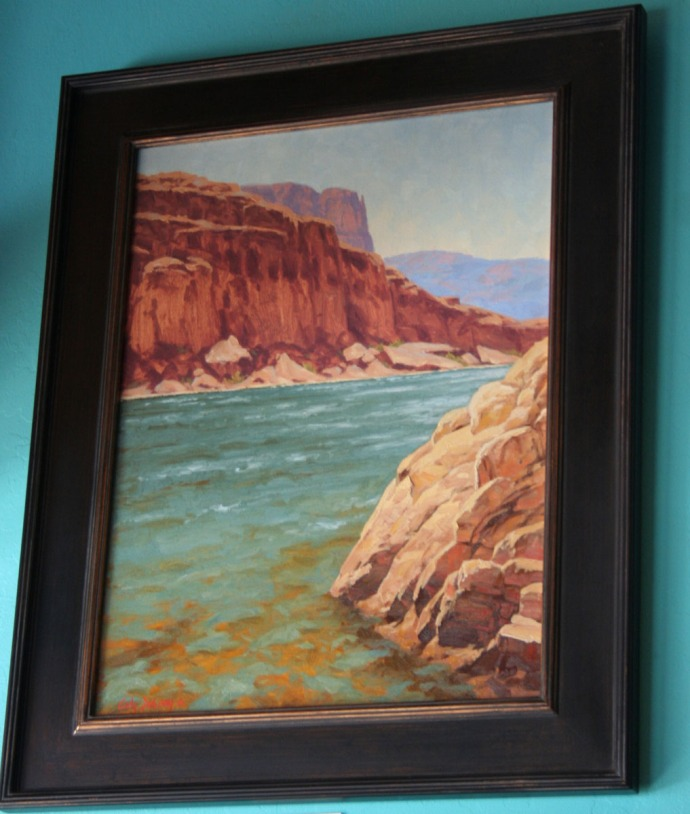 jerome, gc painting, quince cafe