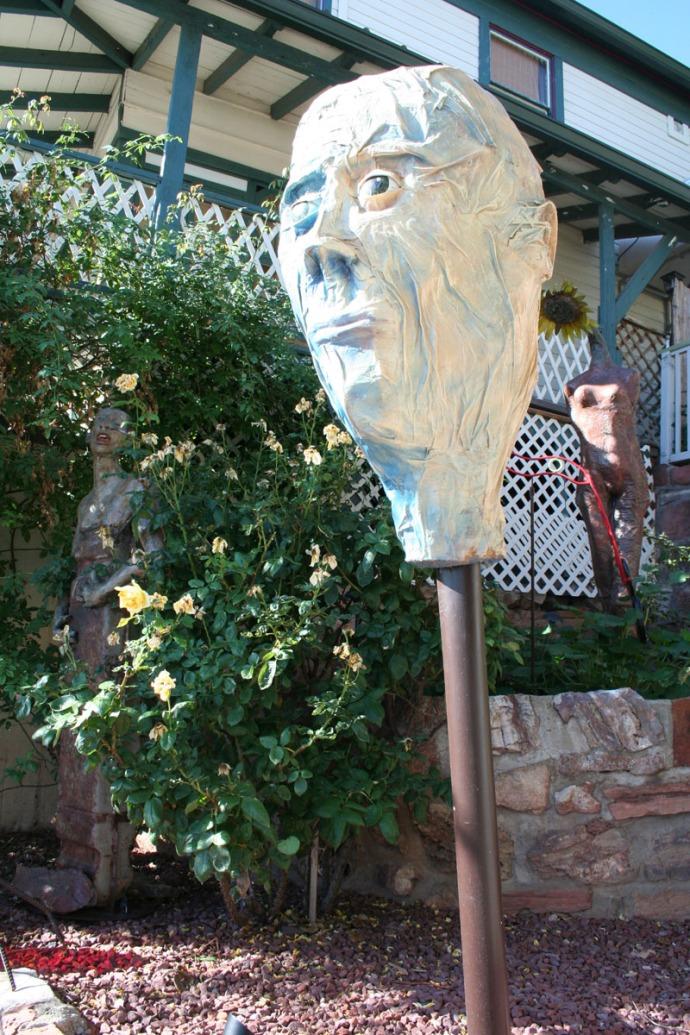 jerome head sculpture
