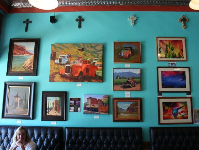 jerome, quince inn, truck art
