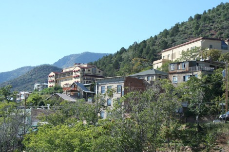 jerome, town on hill