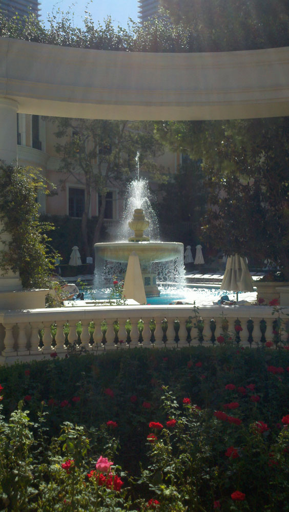 Lv, bellagio water fountain