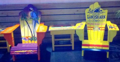 LV margaritaville chairs