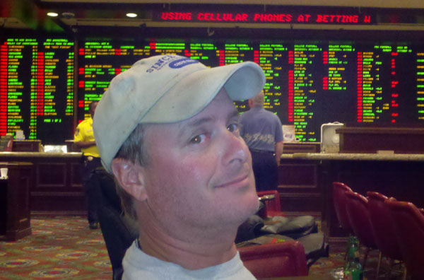 LV, wally at Bill's Saloon sports book