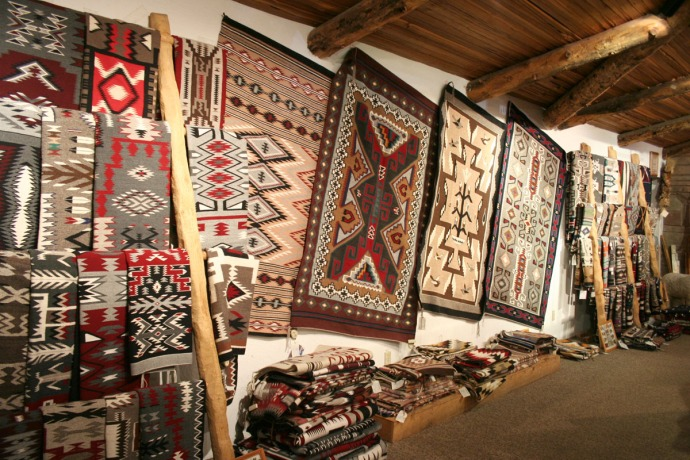 navajo rugs, 2, cameron
