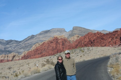 Red rock jamie, wally on road