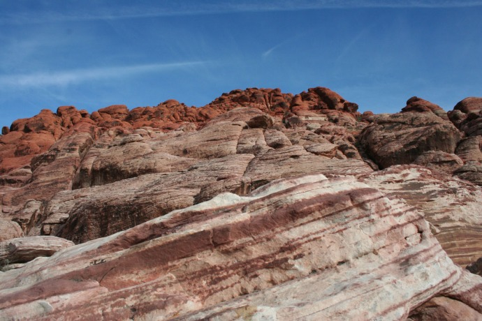 red rock, red rocks hori w:sky