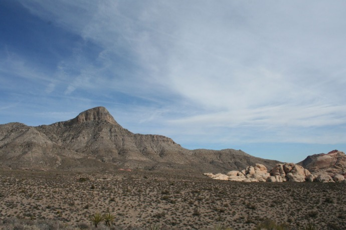 Red rock, turtlehead from distance