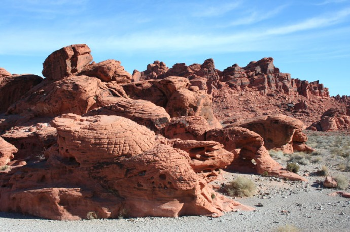 valley of fire beehive rocks
