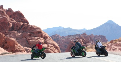 valley of fire motorcycle riders