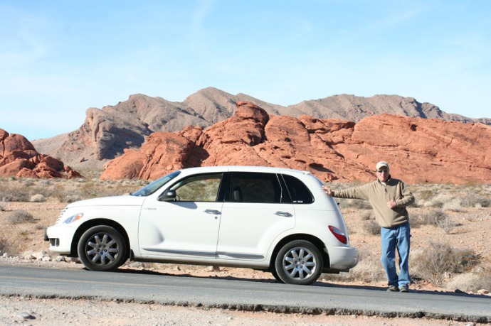 valley of fire pt cruiser & wally