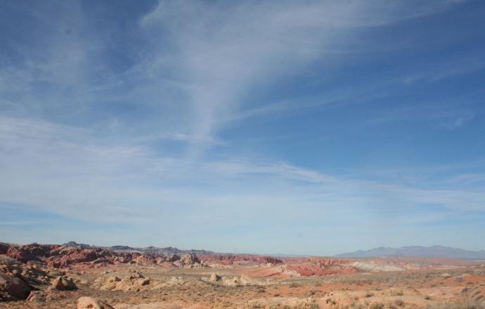 Valley of Fire Rainbow Vista hori