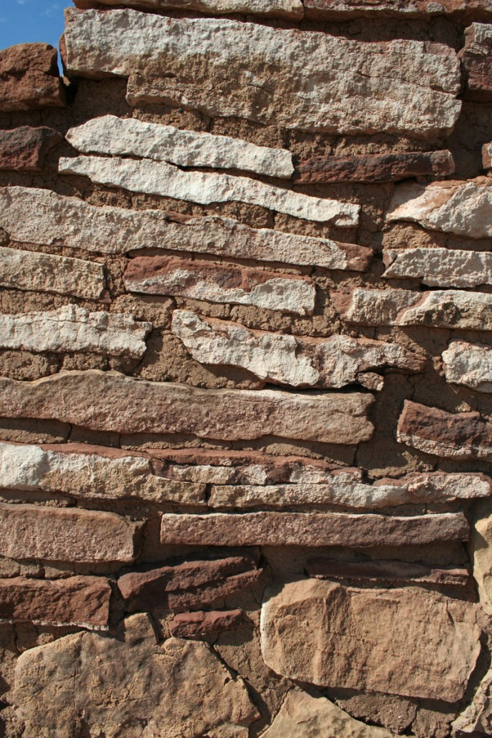 Wupatki wall