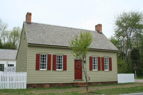 Bethania Moravian house 3:4 view