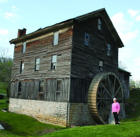 carol at whites mill, Abin, VA