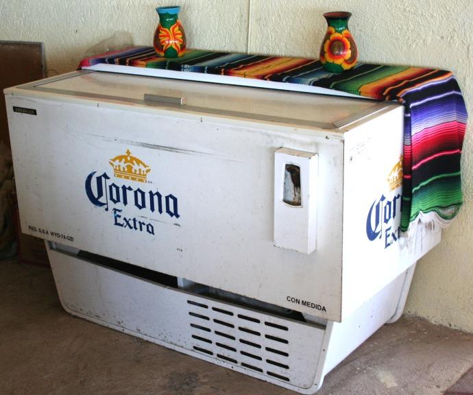Corona extra cooler