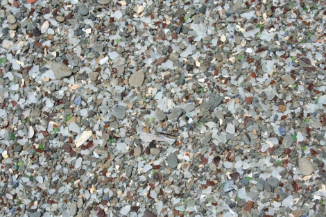 Glass Bch-more pebble closeups