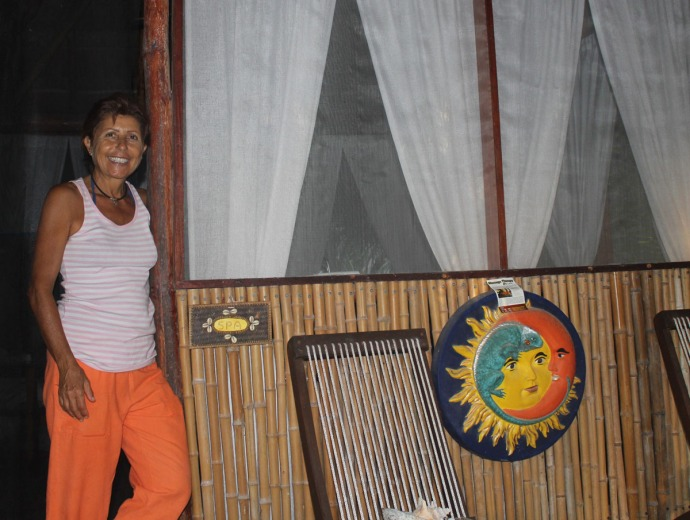 Lucia clsup, hut door