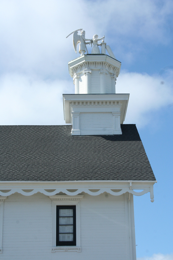 Mendo-church steeple